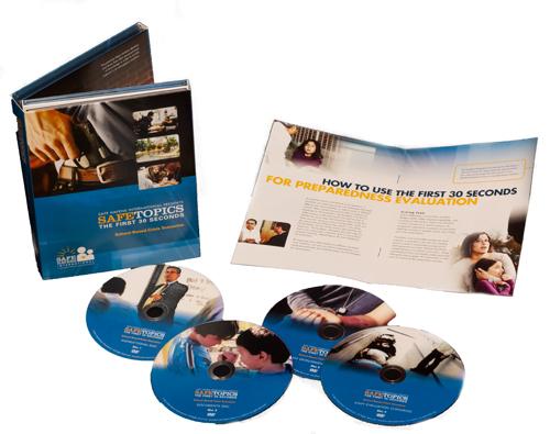 School safety crisis scenario training DVDs.