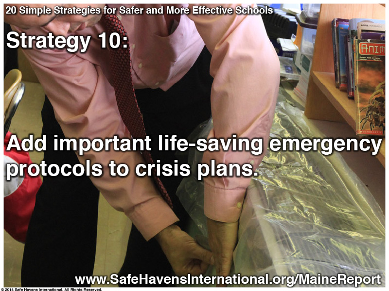 Twenty Simple Strategies to Safer and More Effective Schools Maine Dept of Ed Infographic13 Infographic: Twenty Simple Strategies for Safer and More Effective Schools