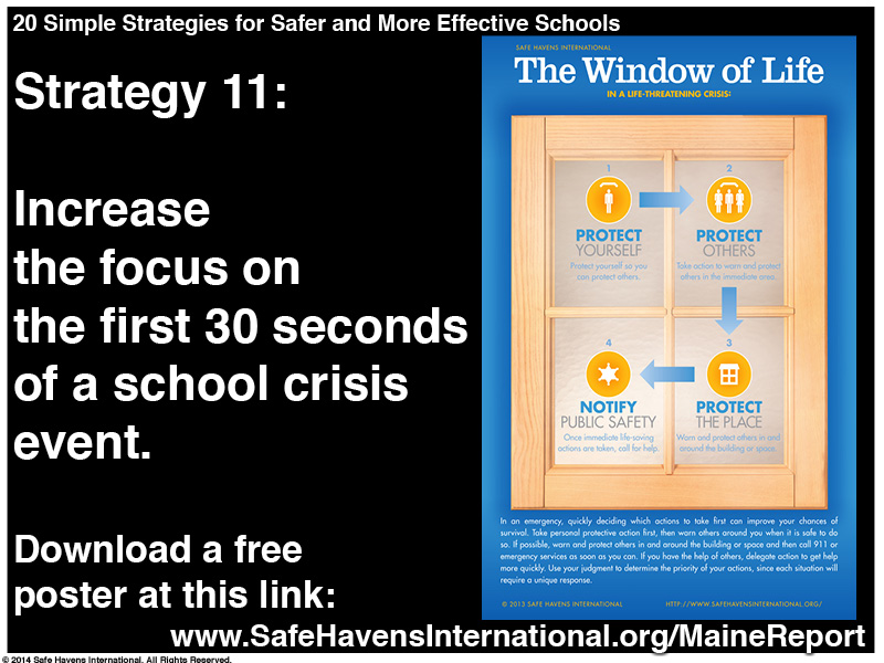Twenty Simple Strategies to Safer and More Effective Schools Maine Dept of Ed Infographic14 Infographic: Twenty Simple Strategies for Safer and More Effective Schools