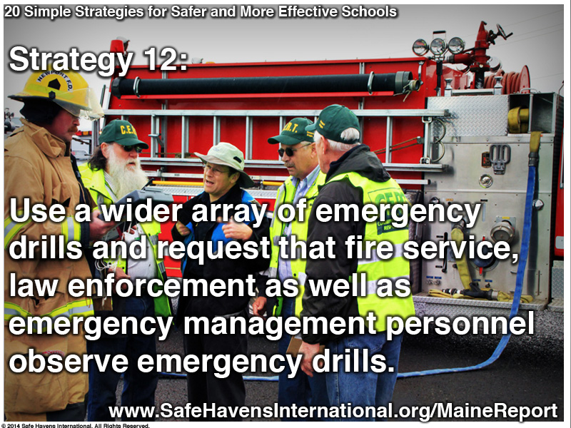 Twenty Simple Strategies to Safer and More Effective Schools Maine Dept of Ed Infographic15 Infographic: Twenty Simple Strategies for Safer and More Effective Schools