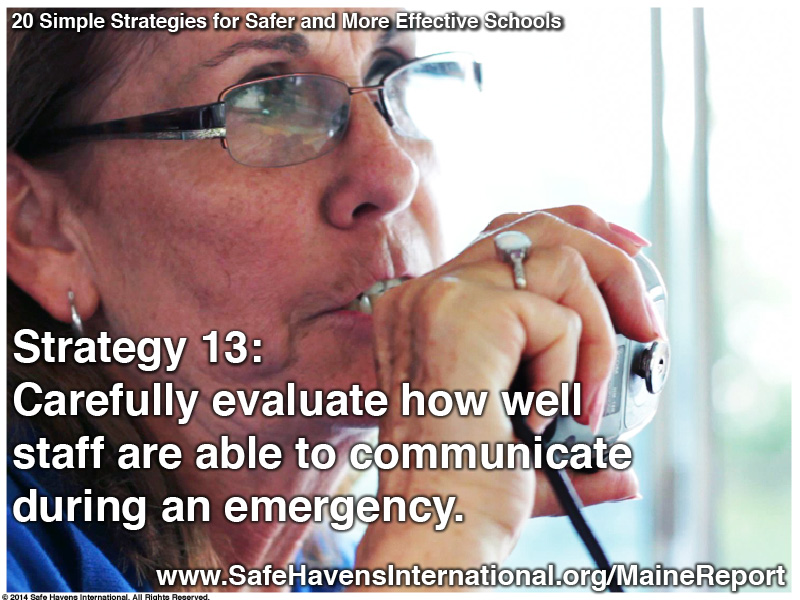 Twenty Simple Strategies to Safer and More Effective Schools Maine Dept of Ed Infographic16 Infographic: Twenty Simple Strategies for Safer and More Effective Schools