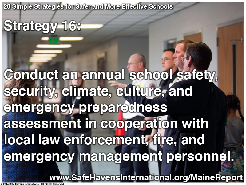 Twenty Simple Strategies to Safer and More Effective Schools Maine Dept of Ed Infographic19 Infographic: Twenty Simple Strategies for Safer and More Effective Schools