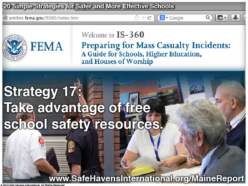 Twenty Simple Strategies to Safer and More Effective Schools Maine Dept of Ed Infographic20 Infographic: Twenty Simple Strategies for Safer and More Effective Schools