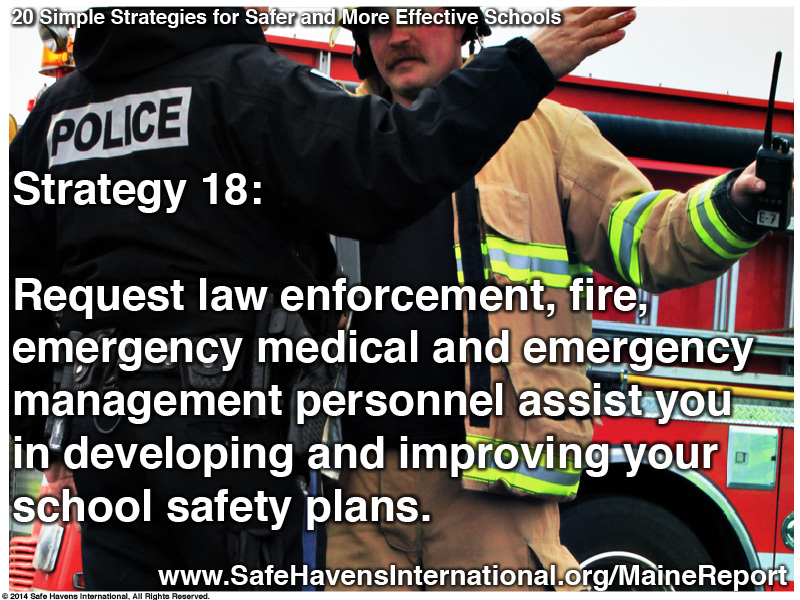 Twenty Simple Strategies to Safer and More Effective Schools Maine Dept of Ed Infographic21 Infographic: Twenty Simple Strategies for Safer and More Effective Schools