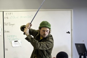 Sword attack