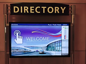 Touch Screen Directory