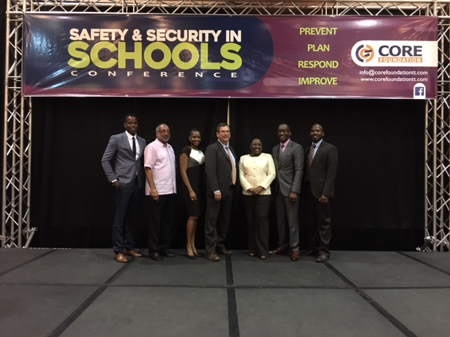 Safe Havens International Executive Director, Mike Dorn presented at a national conference on school violence in Trinidad-Tobago