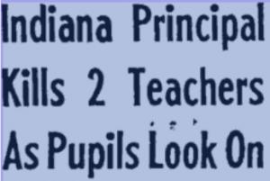 Indiana Principal Headline