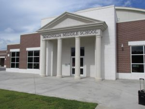 ©Michael Dorn Safe Havens International 2020 Magnolia Middle School in Mississippi serves as an excellent example of how architects with a high degree of expertise of the utilization of crime prevention through environmental design can create safer and more welcoming schools.
