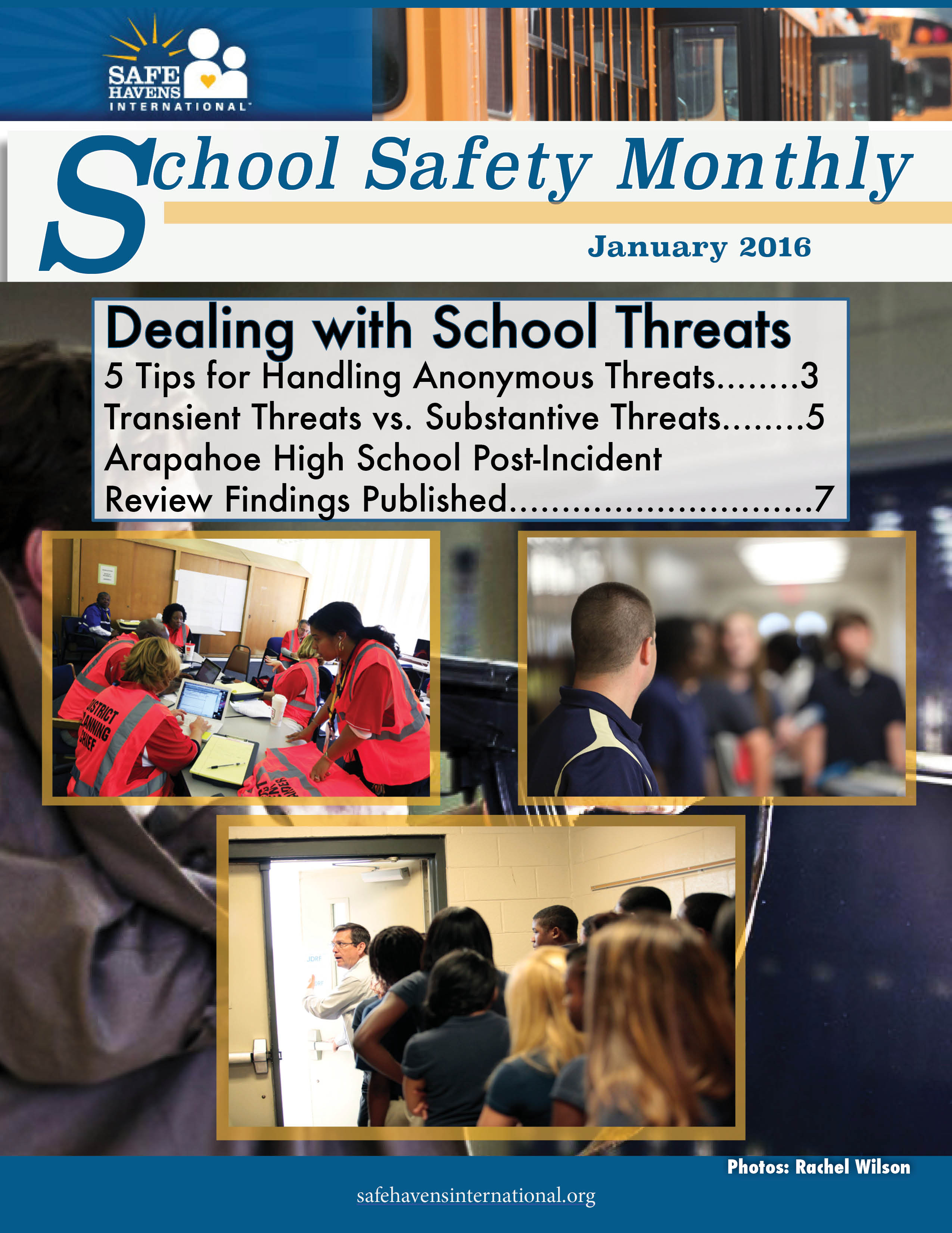 School Safety Monthly, January 2016: School Threats