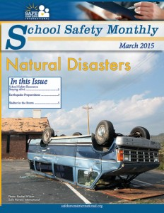 School Safety Monthly, March 2015: Natural Disasters
